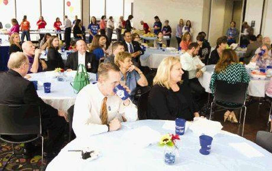 United Way hosted its annual volunteer appreciation luncheon at Conroe Tower Wednesday. Photo: Jason Fochtman