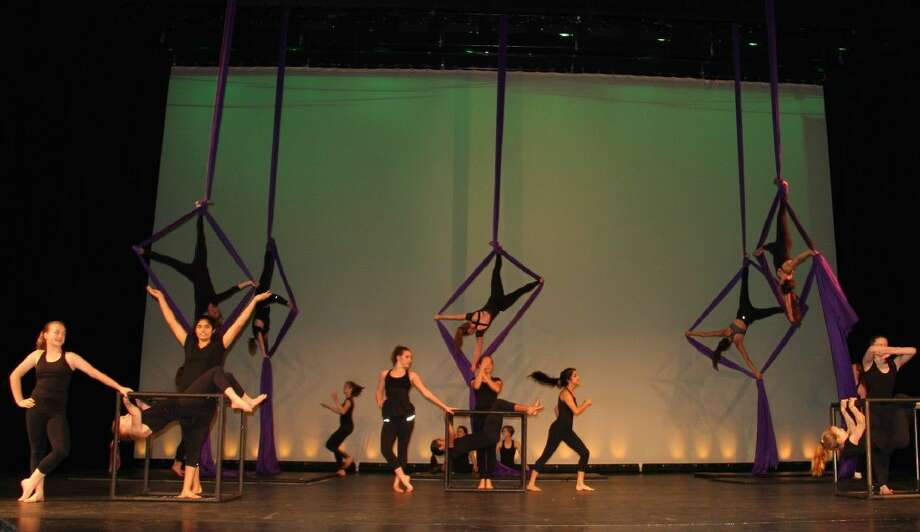 "Cooper dance students gave a preview of the upcoming ""LIFE!"" dance production at the school's annual Fine Arts Festival."