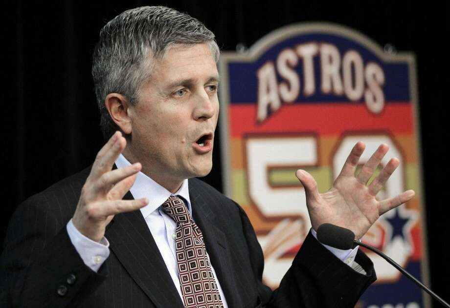 Houston Astros general manager Jeff Luhnow had his player database allegedly hacked by his former colleagues in St. Louis. Photo: David J. Phillip
