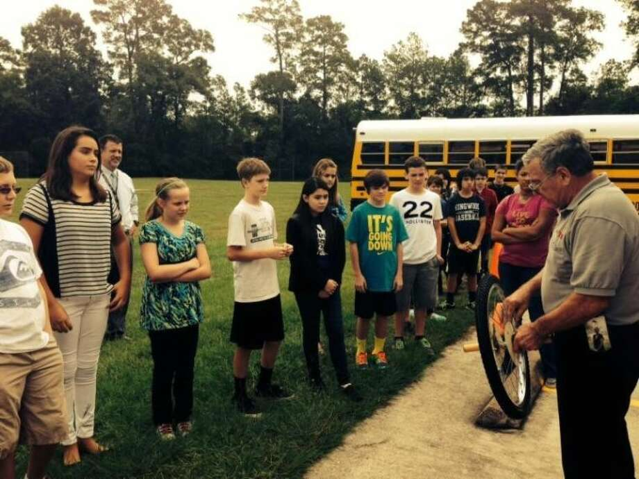 he Texas Alliance for Minorities in Engineering's mobile exhibit, known as the Trailblazer II, visited Kingwood Middle School Monday, Sept. 23. Students in grades 6-8 had the opportunity to visit the display which incorporates teachings in the classroom through seven hands-on exhibits.