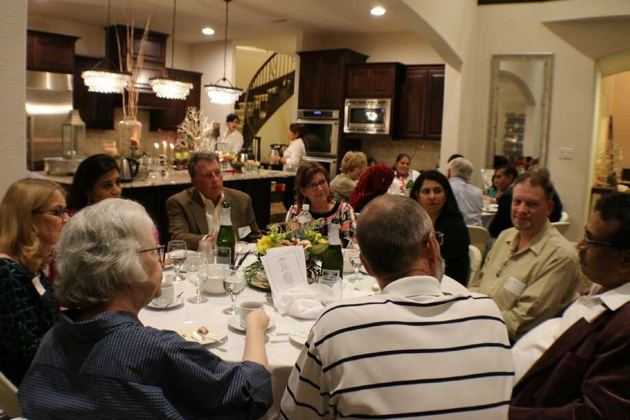 Faiths Together hosted its first Dinner Dialogue on April 30 at the home of Vajih Khan. The event, which was attended by more than 70 men and women of varied faiths in the community, focused on a discussion of basic Islamic beliefs, common Muslim lifestyle practices and current events.