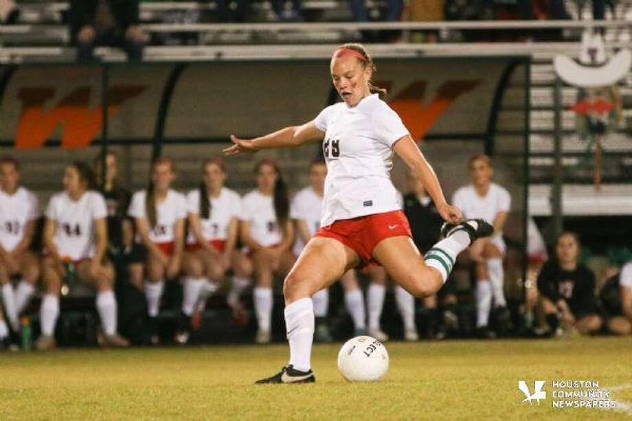 The Woodlands' Grace Piper (29) was named the District 16-6A Most Valuable Player.