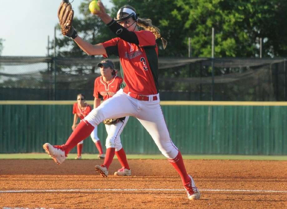 Abby Langkamp struck out 130 batters in 126 innings with a 17-1 record. Photo: Keith MacPherson