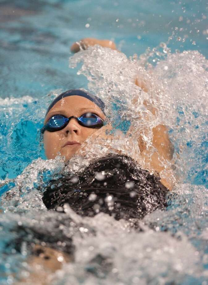Clements graduate Romy Landeck has qualified for the Olympic Trials in three events. The meet begins on Monday. (Photo by Eric S. Swist) Photo: Staff Photo By Eric S. Swist