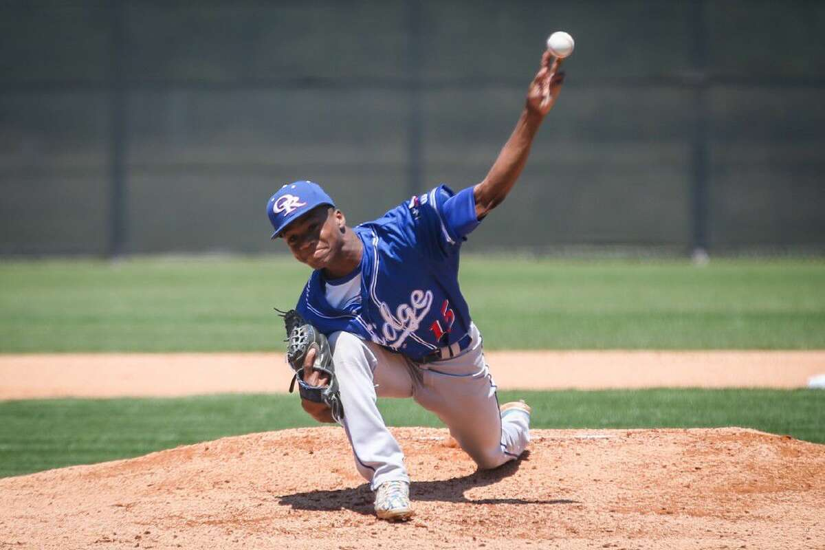 Oak Ridge junior pitcher Jacory Boudreaux tossed a four-hit complete game in a 6-1 victory over Round Rock McNeil in the area round,