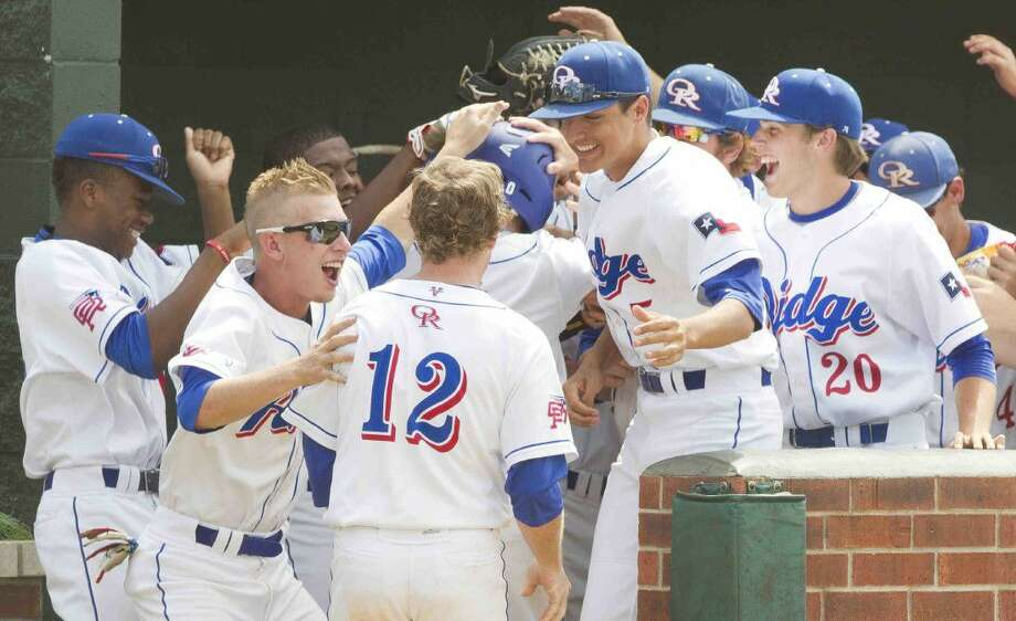 The Oak Ridge baseball team has won 11 of its last 12 games, including four games in the UIL Class 6A playoffs. Photo: Jason Fochtman
