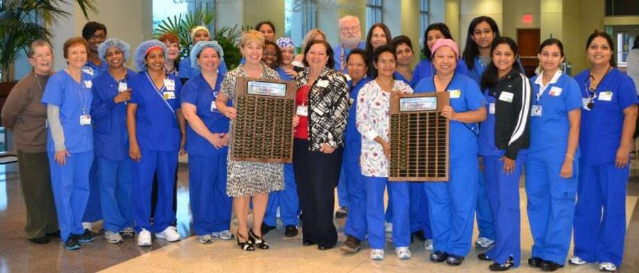 Honoring Nurses at Methodist Sugar Land Hospital for National Certified Nurses Day.
