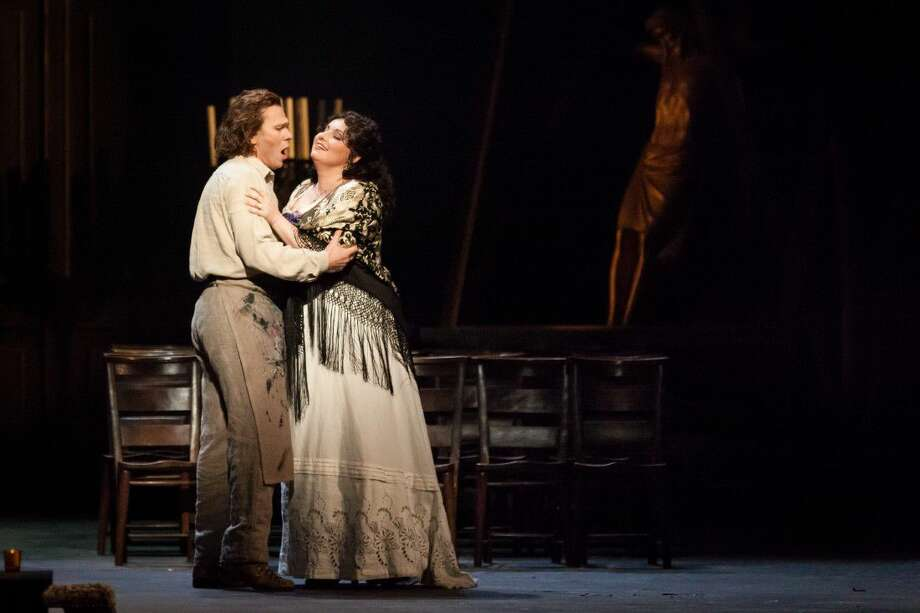 "Houston Grand Opera will present Puccini's ""Tosca"" May 27 at The Cynthia Woods Mitchell Pavilion. Photo: Lynn Lane"