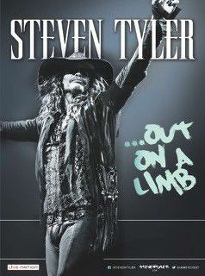 Steven Tyler ... Out On a Limb comes to Houston July 29