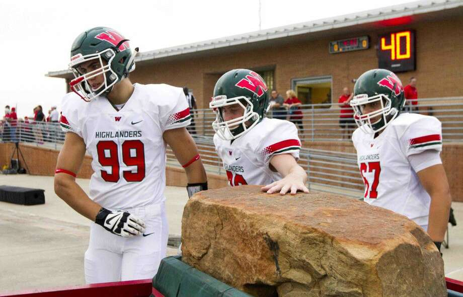The Woodlands defensive linemen Michael Purcell will return to the team next fall.