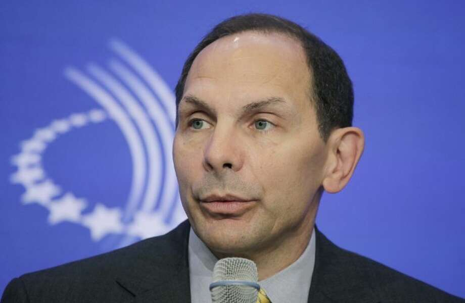 FILE - This Sept. 22, 2011 file photo shows Robert McDonald, CEO and president of Procter & Gamble. Photo: Mark Lennihan