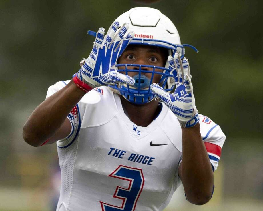 Oak Ridge wide reciever Kyle Townsend will be one of the top returning playmakers in the county this fall. Photo: Jason Fochtman