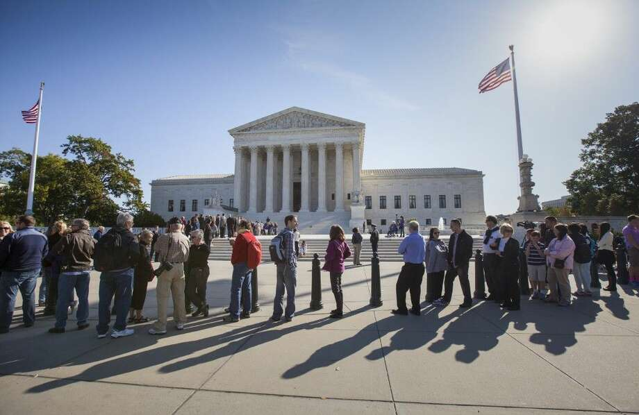 Only two years ago, the Supreme Court struck down part of the federal anti-gay marriage law that denied a range of government benefits to legally married same-sex couples. Photo: J. Scott Applewhite