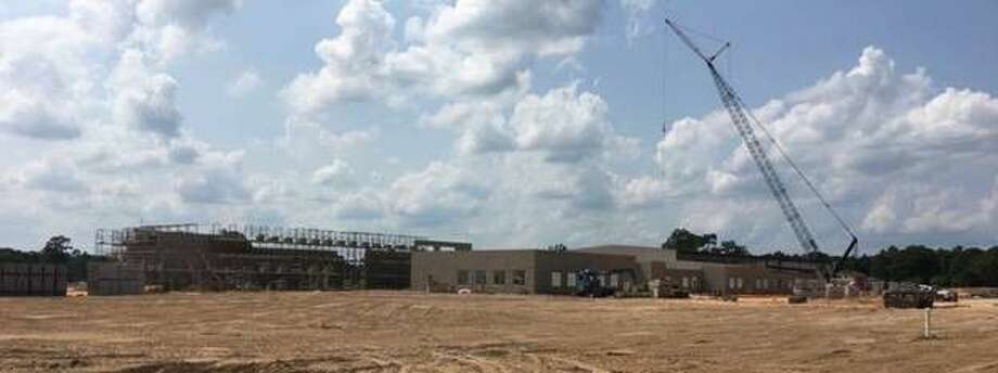 Construction is underway at Montgomery ISD's newest elementary, which was named Keenan Elementary School on Tuesday.