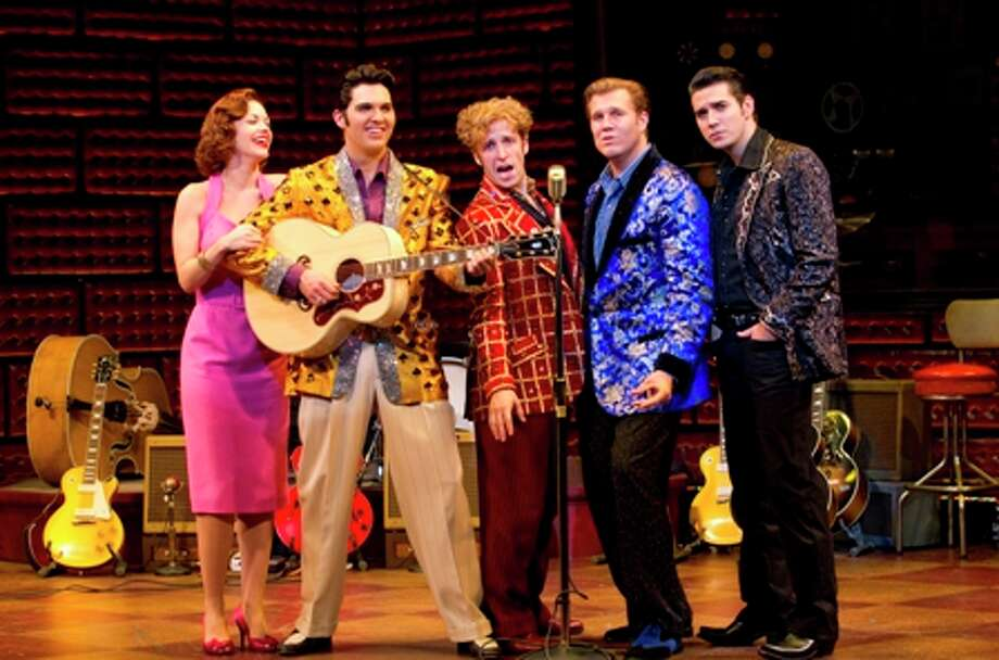 The national tour of the Broadway musical MILLION DOLLAR QUARTET, inspired by the electrifying true story, makes its debut at the Hobby Center Feb. 28 - March 4, 2012. / ©2011 Joan Marcus