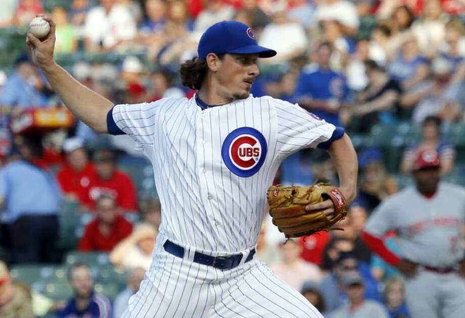 Jeff Samardzija is 2-7 this season with a 2.83 ERA and 103 strikeouts in 108 innings. Photo: Charles Rex Arbogast