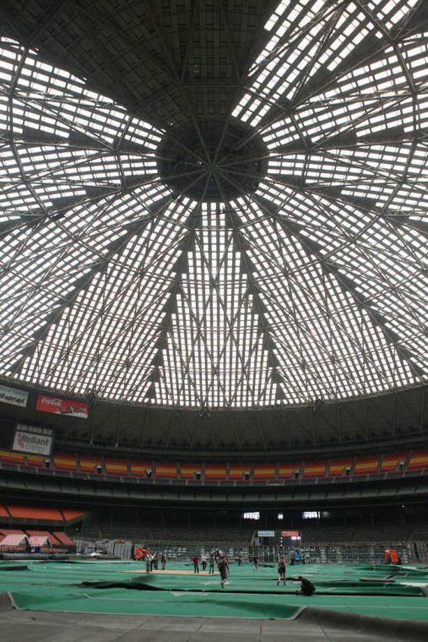 The Astrodome as shown in this April 2012 file photo.