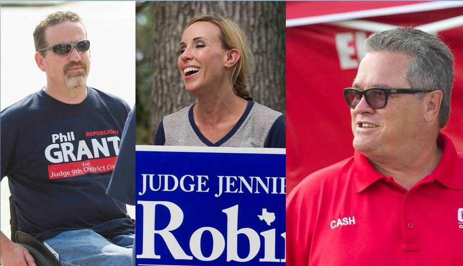 Grant, Robin and Cash. Photo: Staff Photo