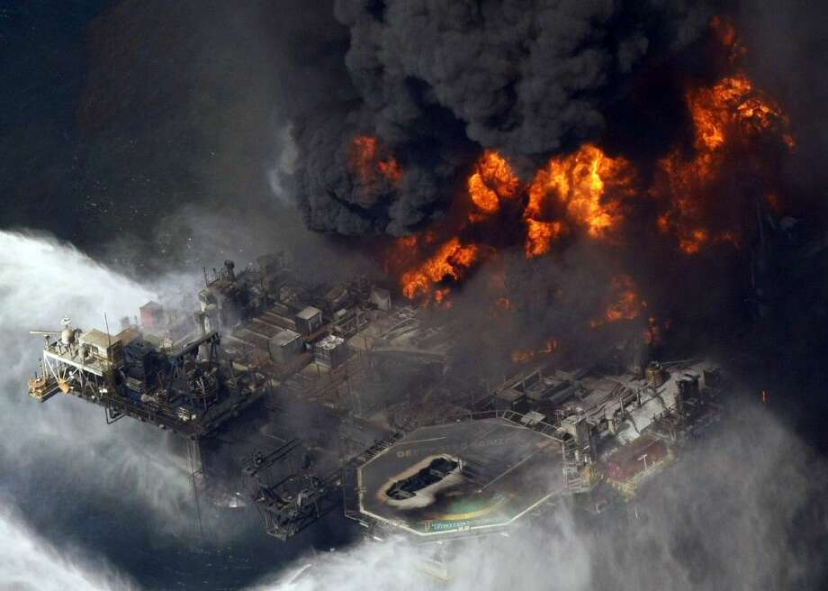 BP and five Gulf states announced an 18.7 billion settlement Thursday that resolves years of legal fighting over the environmental and economic damage done by the energy giant's oil spill in 2010. The settlement involves Florida, Alabama, Mississippi, Louisiana and Texas. Photo: Gerald Herbert