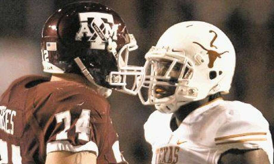 Texas and Texas A&M haven't played what once was an annual rivalry since 2011.