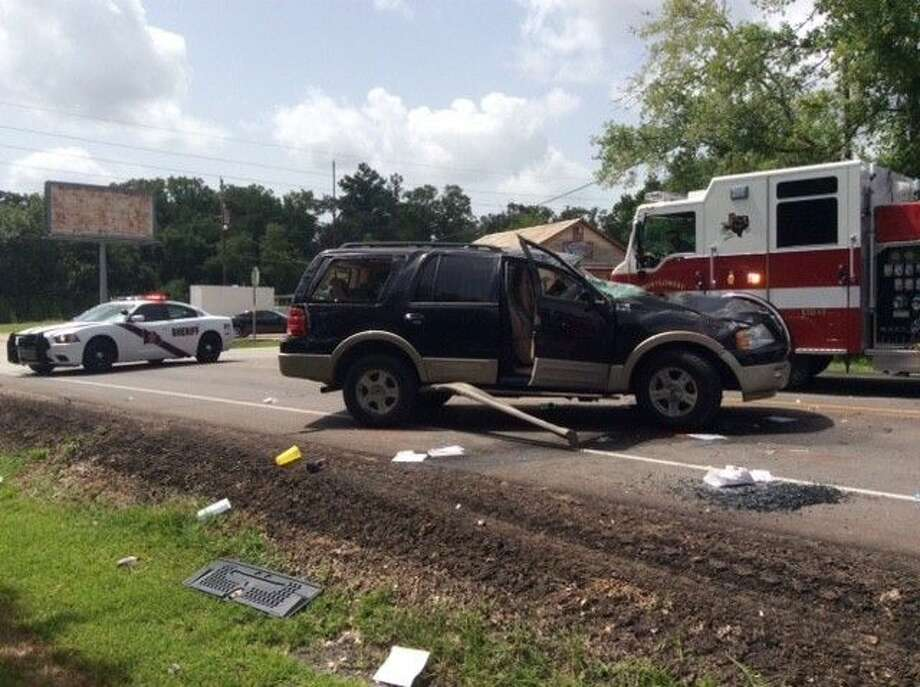 A Ford Expedition lost control on FM 1486 Sunday morning leaving the driver deceased and the two passengers in the hospital with non-life threatening injuries.