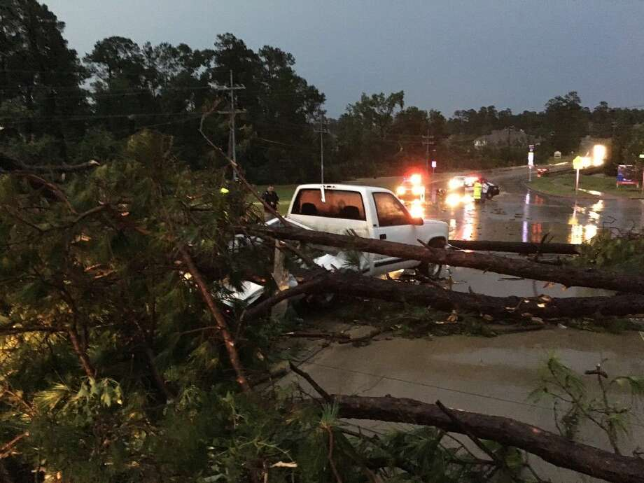 Severe storms and possible tornados ravaged much of Montgomery County on Thursday.