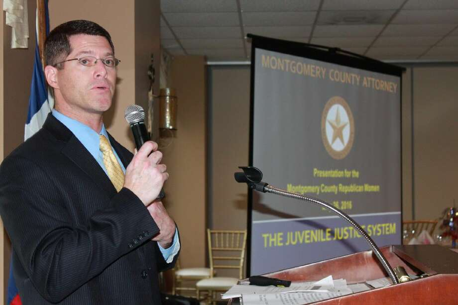 Chief of the Juvenile Division of the County Attorney's Office Marc Brumberger discussed cases he's faced, trends in local crime, and the Juvenile Justice System during his talk at the Montgomery County Republican Women's general meeting on Thursday at the River Plantation Country Club.