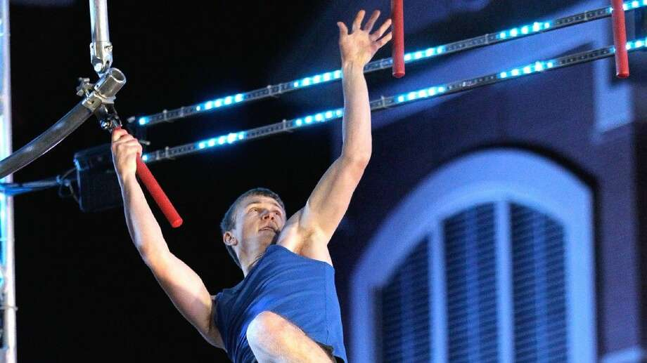 Ryan McCoy, a resident of The Woodlands, was one of 15 competitors to move past the Houston qualifer for American Ninja Warrior.