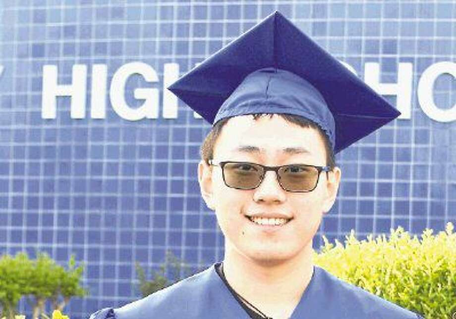 Boyu Han is the New Caney High School valedictorian for the class of 2016.