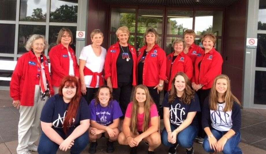 Members of the Lake Conroe Area Republican Women and National Charity League in Montgomery delivered over 1000 items to veterans and the VA Hospital.