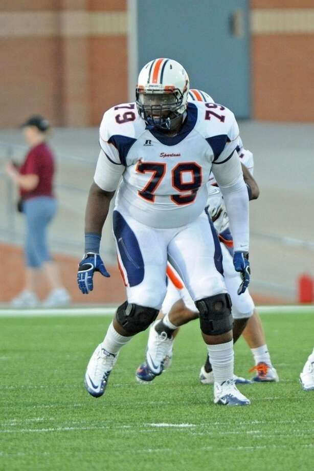 Caleb Benenoch leads a skilled Seven Lakes offensive line into 2012. Photo: Craig Moseley