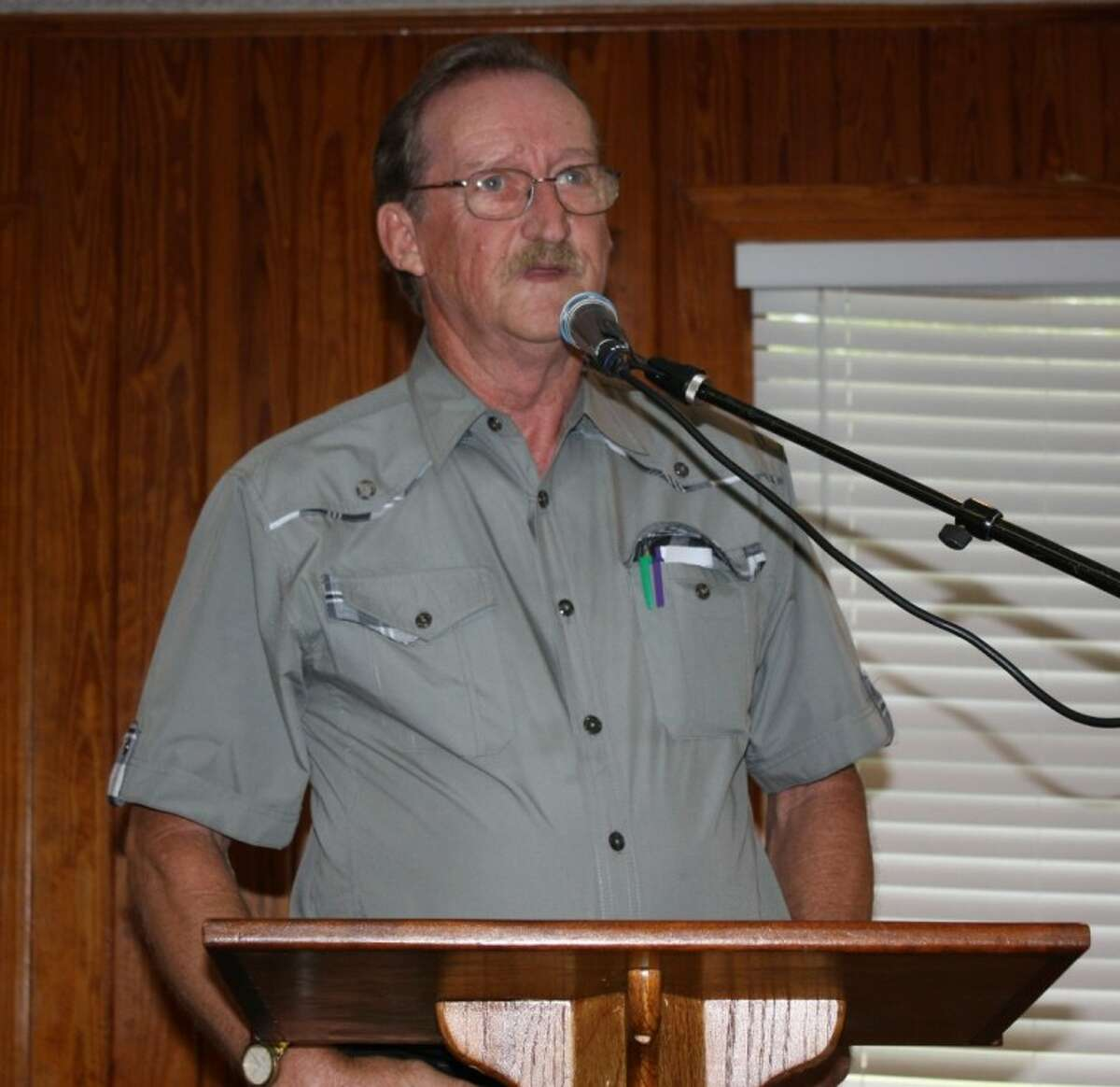 Frank Griffin discussed his book,