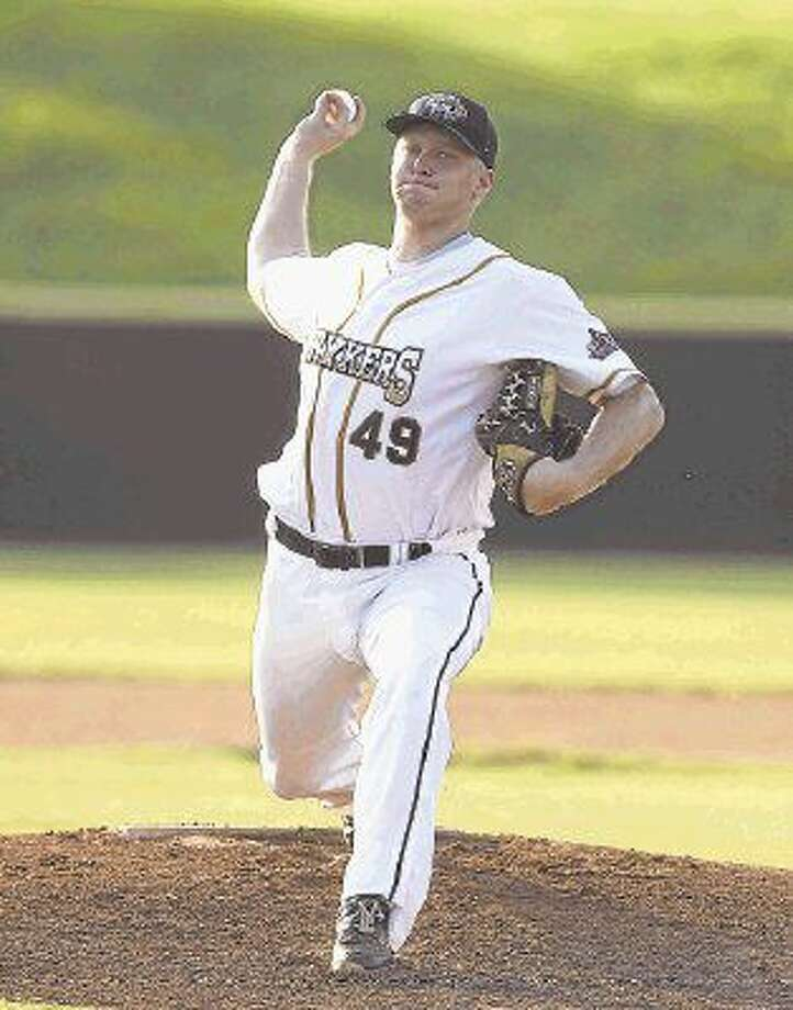 Woodlands Strykers pitcher Nolan Holland has pitched for parts of five seasons with the Texas Collegiate League franchise and is the only returning player from the 2015 season. Photo: Jason Fochtman