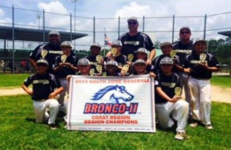 Shown here are members of the CAYB U-11 All-Stars Bronco Division which recently earned a trip to the state tournament after winning the South Zone Coast Region Championship.