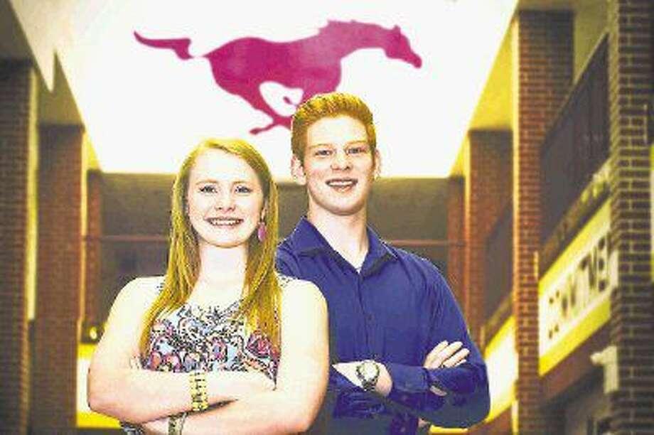 Valedictorian Makenzie Kulhanek and salutatorian Benjamin Watzak will lead the Magnolia West High School's Class of 2016 in a commencement ceremony on Saturday, June 4.