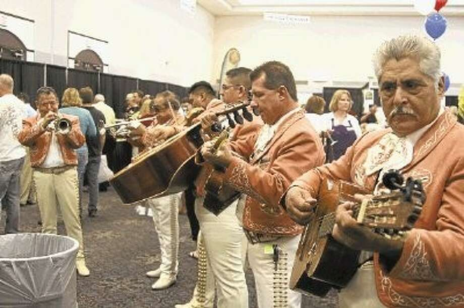 Some restaurants in the past have brought out their Mariachi band to entertain guests at Tasting the Town.