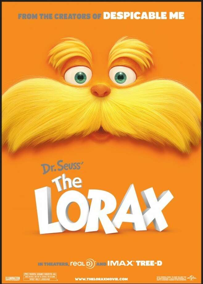 The Children's Museum of Houston celebrates Dr. Seuss' birthday with an apperance by The Lorax from the upcoming movie.