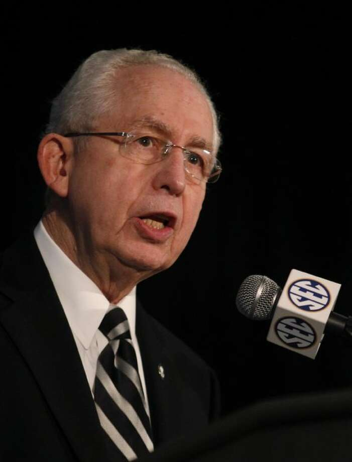 SEC commissioner Mike Slive is making a hard push toward autonomy for the Big Five conferences. Photo: Butch Dill