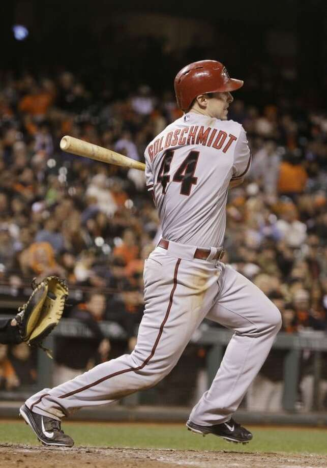 Arizona Diamondbacks first baseman Paul Goldschmidt, who played high school baseball at The Woodlands, will be the National League's starter in tonight's All-Star game in Minneapolis. Photo: Eric Risberg