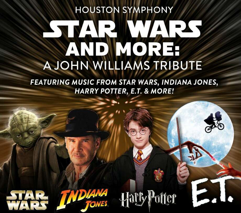 """The Houston Symphony will present """"Star Wars: A Tribute to John Williams"""" June 7 at The Cynthia Woods Mitchell Pavilion."""