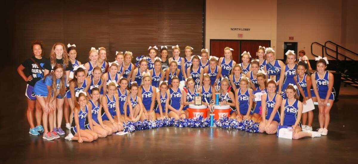 The Friendswood High School cheerleaders captured numerous awards on all levels at the NCA cheerleading camp in Galveston.