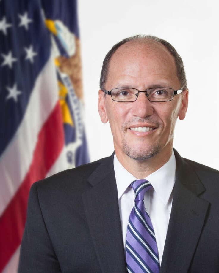 Secretary of Labor Thomas E. Perez