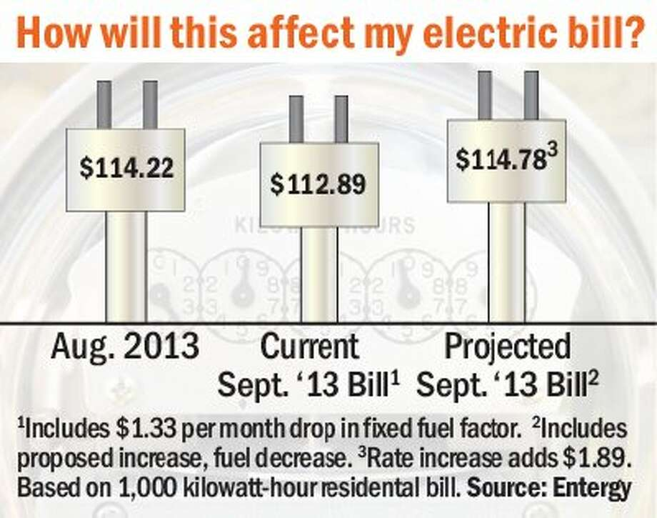 Entergy seeks rate increase of $1.89 a month