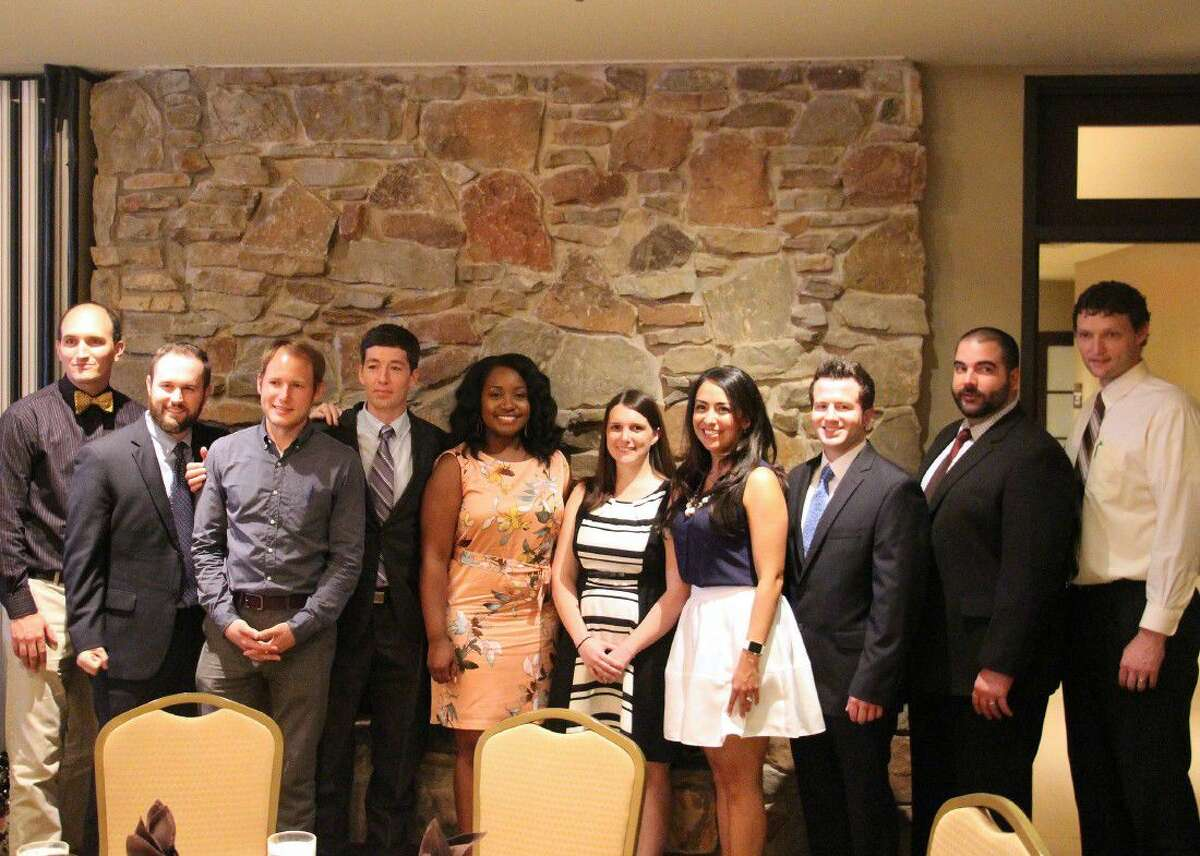 The 2016 Graduates are from left to right: Dr. Ryan Varga, D.O., Dr. Ryan Kersey, M.D., Dr. Bart Klaus, M.D., Dr. Micah Bosley, M.D., Dr. Jerecia Watson, M.D., Dr. Carolyn Emerick, M.D., Dr. Erika Brito, M.D., Dr. Reid Singleton, M.D., Dr. Kyle Milian, M.D., and Dr. Kirby Farnsworth, D.O.