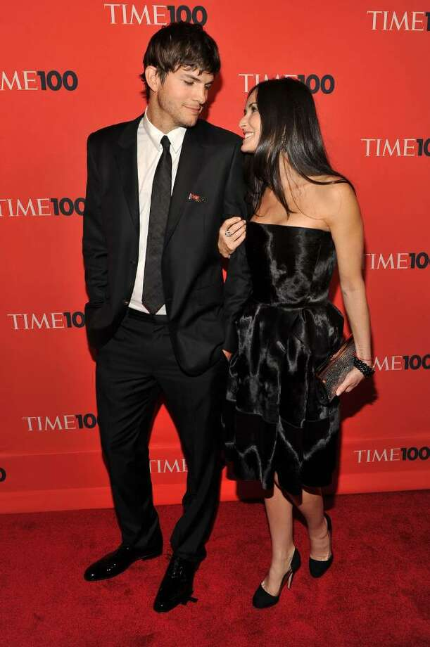 NEW YORK - MAY 04:  Actors Ashton Kutcher and Demi Moore attend Time's 100 most influential people in the world gala at Frederick P. Rose Hall, Jazz at Lincoln Center on May 4, 2010 in New York City.  (Photo by Theo Wargo/Getty Images for Time Inc) *** Local Caption *** Ashton Kutcher;Demi Moore Photo: Theo Wargo, Getty Images For Time Inc / 2010 Getty Images