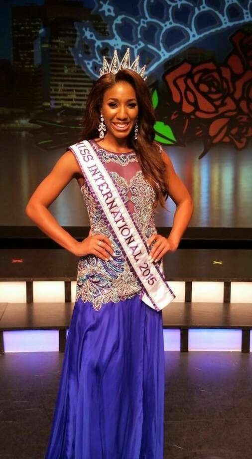 Miss Texas International, Elise Banks, 27, of Houston, (and a native of the Lake Conroe area) was crowned Miss International 2015 Aug. 1 at the Annual Miss International Pageant held in Jacksonville, Fla.
