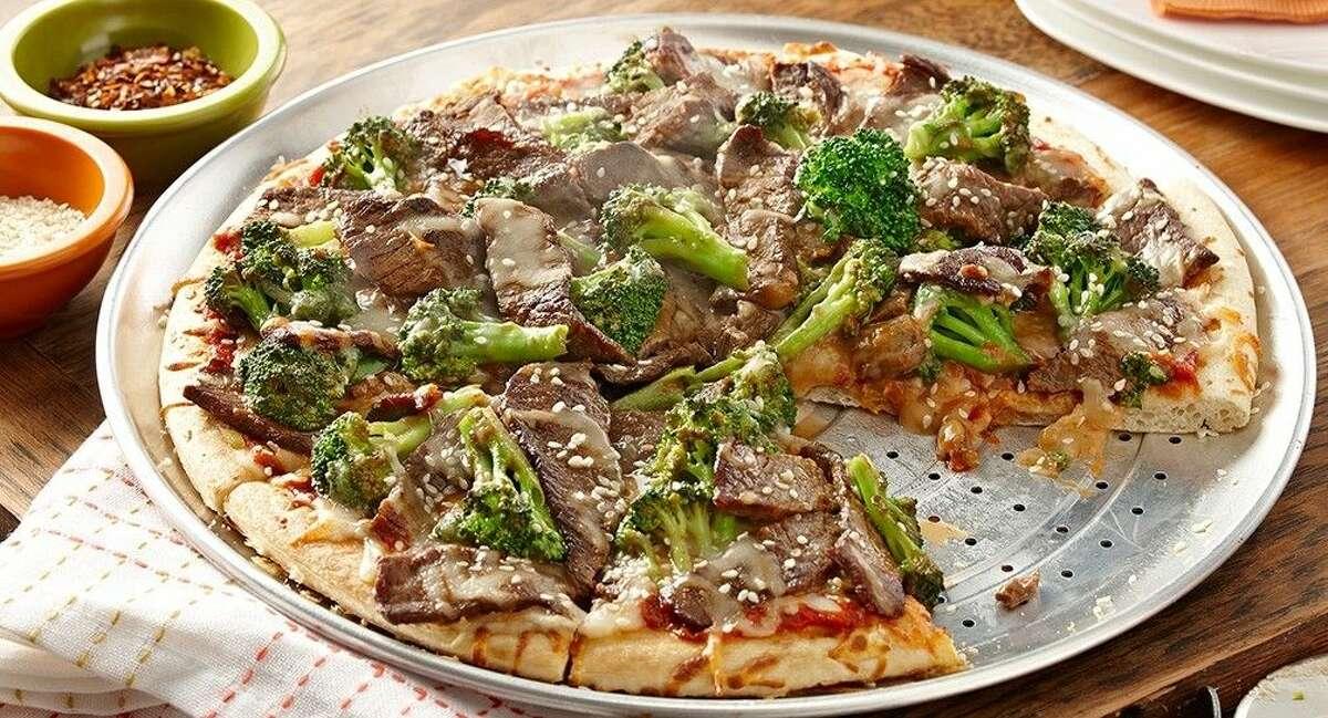 Beef & Broccoli Pizza