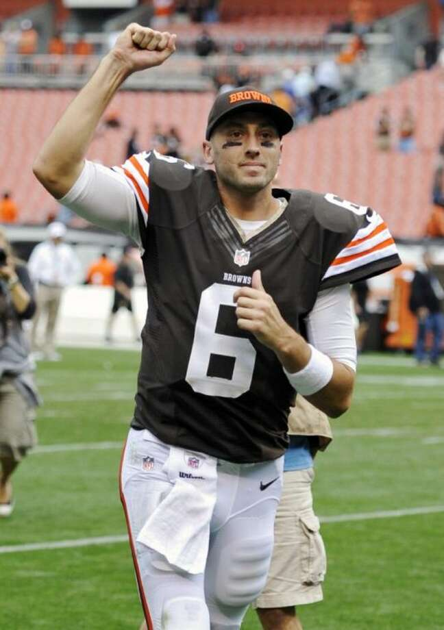 Quarterback Brian Hoyer and the Cleveland Browns host the Buffalo Bills on Thursday night.