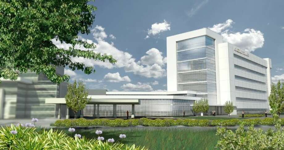 A computer rendering of what the expanded Memorial Hermann Sugar Land Hospital campus will look like once it's completed in 2016. Photo: Image Courtesy Memorial Hermann