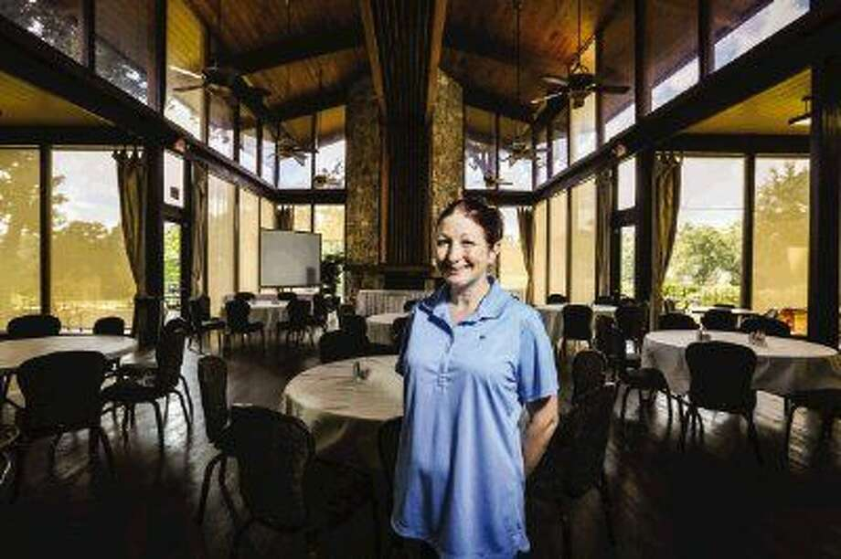 Adrianne Bryant, head chef and kitchen manager of The Village Golf Club, is pictured Tuesday at the clubhouse in Panorama Village. Photo: Michael Minasi